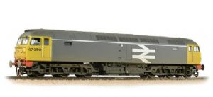 Bachmann 31-664 BR Railfreight Class 47, No.47.050, Grey Livery, Weathered